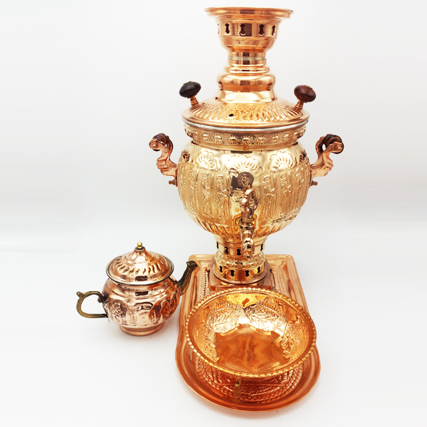 Emperator copper samovar