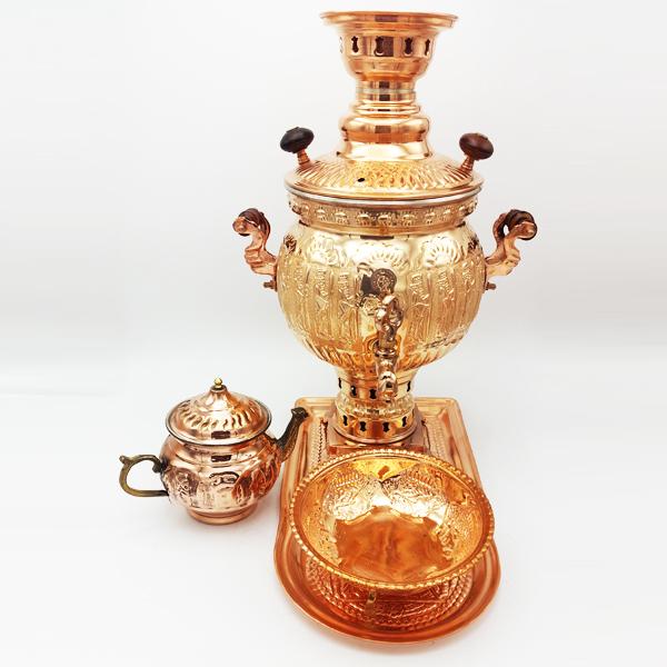 Emperator copper samovar